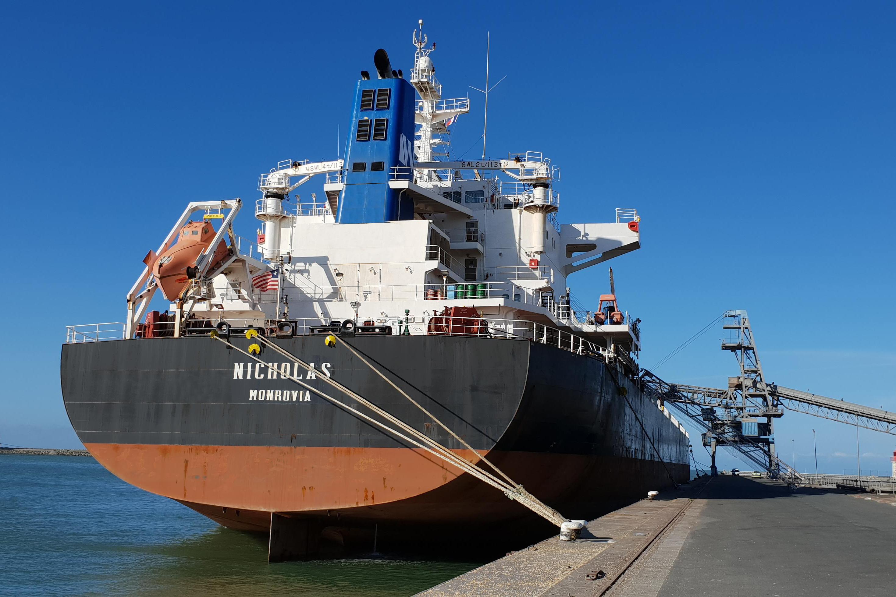 MV Nicholas - Crown 58 Supramax built in 2010 by Sinopacific Dayang